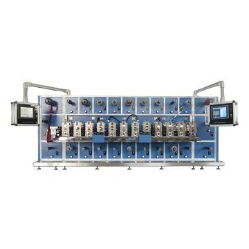 富日精密十工位圆刀模切机,DCR-1020,其余型号模切机可根据参数及性能要求报价