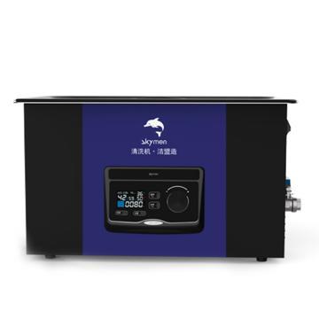洁盟 液晶LED超声波清洗机,330*300*150mm,15L,40KHz,常温~80℃,JM-16D-40