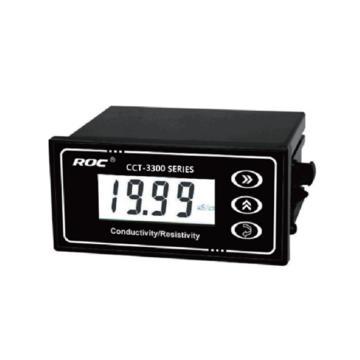 科瑞达 电导率/电阻率/TDS在线分析仪主机,CCT-3300E 电源DC24V±15%
