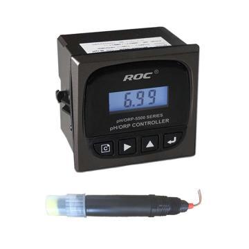科瑞达 PH在线分析仪,PH-5520配PH-1110A 10m线 AC220V 接线叉连接