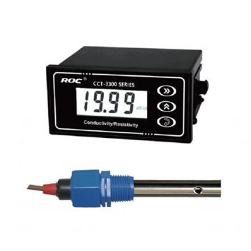 科瑞达 3320电导率/TDS在线分析仪,CCT-3320配CON3131-13 AC220V±15% 0.05~18.25MΩ·cm 10m线