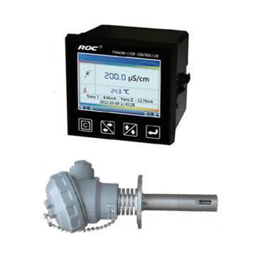 科瑞达 8301A电导率/TDS在线分析仪,CCT-8301A配CON5323B-55(5m线) DC24V 量程0.1~200μS/cm
