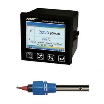 科瑞达 8301A电导率/TDS在线分析仪,CCT-8301A配CON3123Y-13 5m线 DC24V 量程0.1~200μS/cm