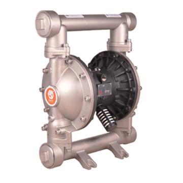 """固德牌/GODO 2""""不锈钢316壳体气动隔膜泵,QBY3-50P316TFF"""