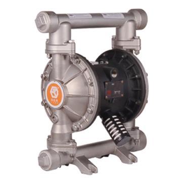 """固德牌/GODO 1_1/2""""不锈钢304壳体气动隔膜泵,QBY3-40PAAA"""