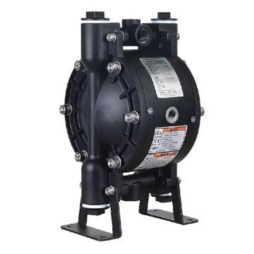"""固德牌/GODO 3/8""""铸钢壳体气动隔膜泵,QBY3-10GTPF"""