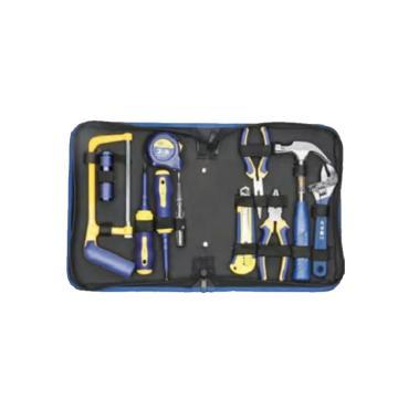 长城精工Greatwall 11件基本维修组合工具,282*215*57,404011