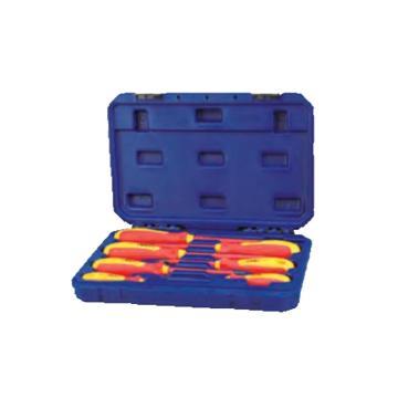 长城精工Greatwall VDE绝缘旋具塑盒组套,7件套,288107