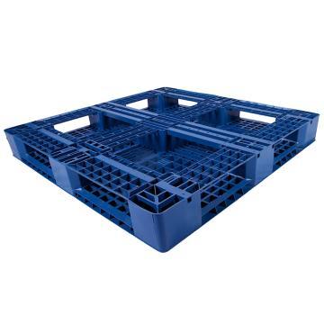 西域推荐 田字网格托盘,改性HDPE,1200*1000*150mm,静载4T,动载1T,TK1210TW-A,蓝色
