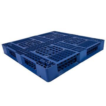 西域推荐 田字网格托盘(8根钢管),改性HDPE,1200*1000*150mm,静载5T,动载1.2T,TK1210TW-A8,蓝色