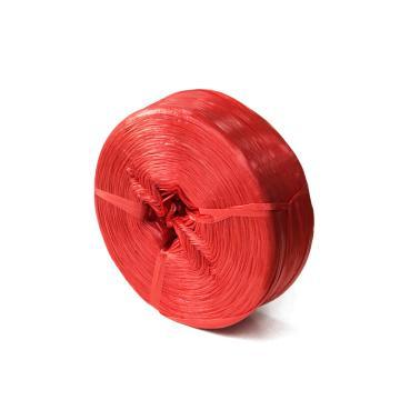安赛瑞 捆扎塑料绳包装绳捆绑绳,尺寸:3cm×4200m,红色