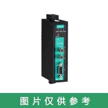 摩莎Moxa 工业级 PROFIBUS 转光纤转换器,ICF-1180I-M-ST
