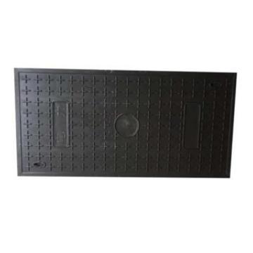 8113820西域推荐 复合材料盖板电缆槽 可定制,80×1000mm (80×50)2块拼接