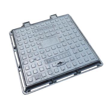 8113820西域推荐 铸铁方型井盖 可定制,重型700×700