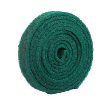 8113820精冠研磨 超细纤维金刚砂工业百洁布,90mm*8m 绿色