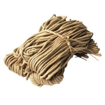 安赛瑞 麻绳编织麻绳黄麻绳,尺寸:Φ8mm×200m