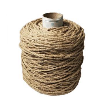 安赛瑞 麻绳编织麻绳黄麻绳,尺寸:Φ6mm×300m
