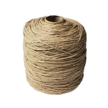 安赛瑞 麻绳编织麻绳黄麻绳,尺寸:Φ4mm×750m