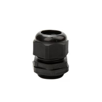 长虹塑料 尼龙电缆固定头(公制),M20*1.5 黑色