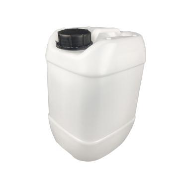 安赛瑞 塑料桶堆码桶(25L),化工桶油桶废液桶密封塑料桶存水桶带盖方桶 本色