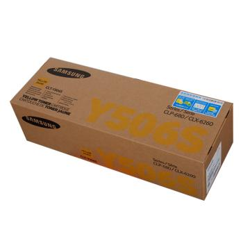 三星鼓粉一体硒鼓,CLT-Y506S 黄色 适用三星CLP-680ND CLX-6260ND/6260FR,打印约1500页