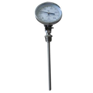 科威弘达 不锈钢万向型双金属温度计,WSS-481F M27*2