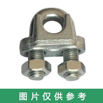 西域推荐 镀锌钢丝绳卡子,Y-22MM 50
