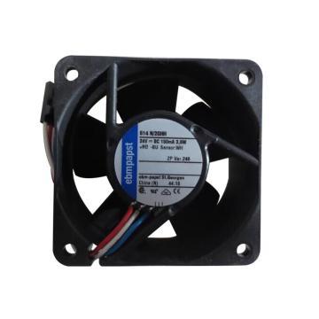 ebmpapst 散热风扇,614 N/2GHH(导线带端子式),24V,3.6W