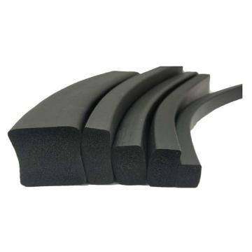 河北德宇 黑色方形发泡硅胶密封条,25mm*35mm,以50倍数下单