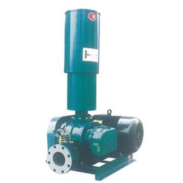 章鼓 罗茨风机(SSR皮带式),SSR-100,流量6.55m3/min,排出压力58.8kPa,功率11KW,配电机
