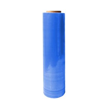 安赛瑞 彩色缠绕膜,蓝色,尺寸:50cm×400m,单位:卷