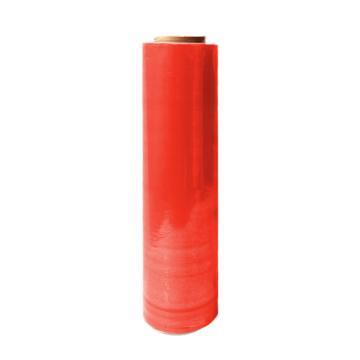 安赛瑞 彩色缠绕膜,红色,尺寸:50cm×400m,单位:卷