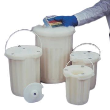 Thermo Scientific 真空绝热瓶,高密度聚乙烯;高密度聚乙烯盖;聚乙烯涂层手柄,2L容量,1箱