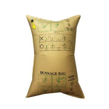 安赛瑞 集装箱货柜防撞缓冲充气袋,填充牛皮纸袋,黄色,尺寸:80×120cm,单位:个