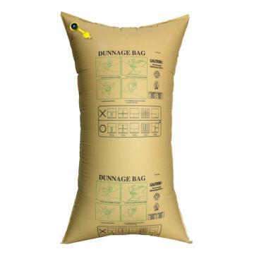 安赛瑞 集装箱货柜防撞缓冲充气袋,填充牛皮纸袋,黄色,尺寸:90×180cm,单位:个