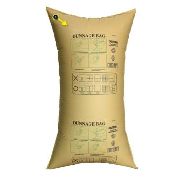 安赛瑞 集装箱货柜防撞缓冲充气袋,填充牛皮纸袋,黄色,尺寸:100×200cm,单位:个