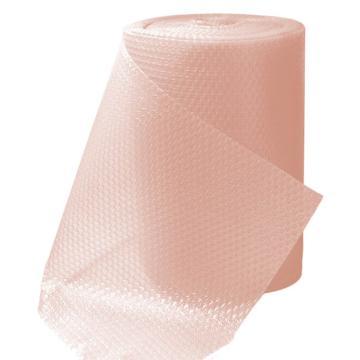 安赛瑞 彩色气泡卷气泡膜气垫膜,淡粉色,尺寸:40cm×38m,单位:卷