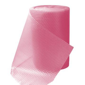 安赛瑞 彩色气泡卷气泡膜气垫膜,玫红色,尺寸:40cm×38m,单位:卷