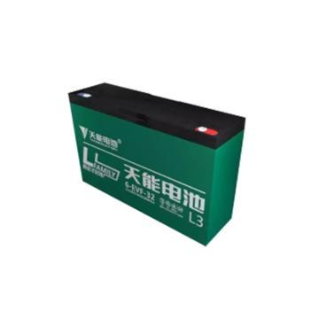 天能 蓄电池,6-EVF-32(4只装),质保1年