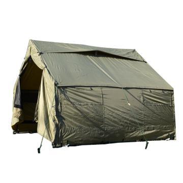 引江 救災外貿野營戶外帳篷,尺寸:3.66×3.04m(牛津布+配件)