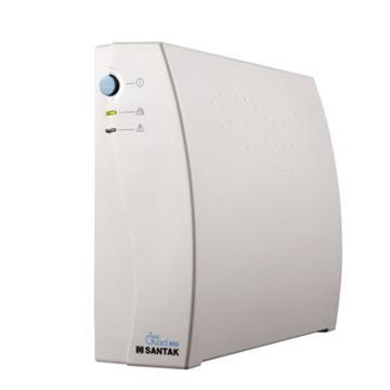 山特SANTAK UPS电源,1000VA 后备式UPS,TG1000,内置电池,无需另配外接电池