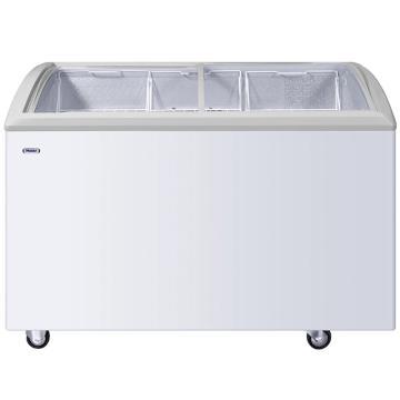 海尔 332L商用圆弧冷冻展示柜,冷藏冷冻转换,SC/SD-332C
