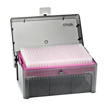 Thermo Scientific ClipTip 20, 盒装吸头, 灭菌的 , 10 x 96/盒,1箱