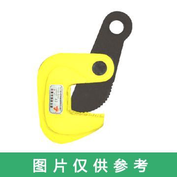 西域推荐 横吊钢板起重钳,额定载荷(t/对):5适用钢板厚度(mm):10~80,LA5