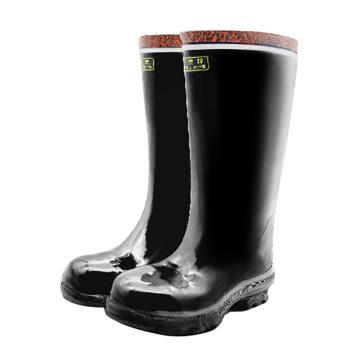 飞鹤 钢包头高筒工矿靴,T215-42