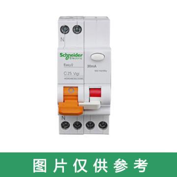 施耐德Schneider EA9R 漏电保护断路器 1P+N C16A/30mA/A类 ,EA9RN1C1630CA