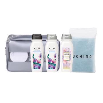 西域推荐 KCS洗护包A,爱敬洗护沐+内野方巾 含洗护包 单位:套