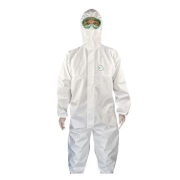 锦禾 一次性隔离衣,白色,2XL(同系列40件起订)