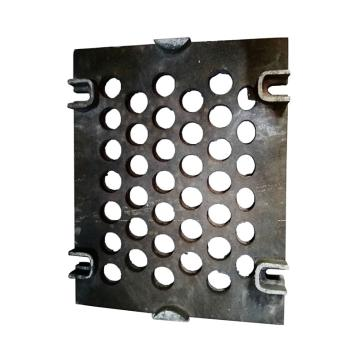 西域推荐 铸钢筛板755*608*20,ϕ65开孔,适用于2YAQH3073大型强迫同步振动筛