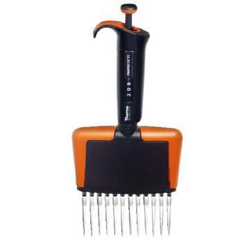 Finnpipette Finnpipette F2 30-300 μl 12道可变量程移液器, CE认证,1个